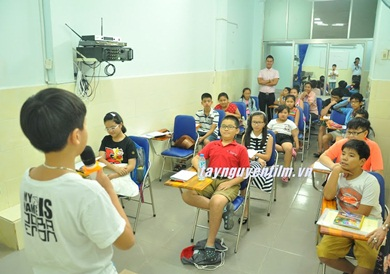 Trung tâm đào tạo mc nhí
