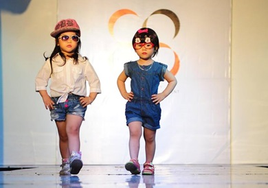 Khóa học người mẫu cho trẻ em