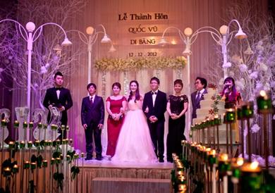 lời dẫn chương trình tiệc cưới