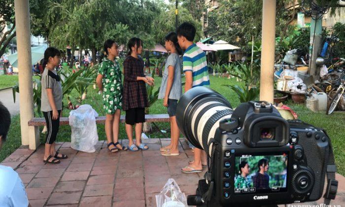 khai giảng khóa học diễn viên nhí tháng 6. 2020