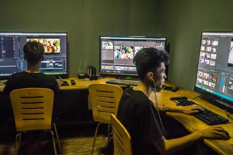 khóa học dựng phim căn bản tại tphcm